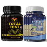 Total Test Testosterone Booster and Night Slim Combo Pack