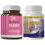Skinny Sleep and Brazilian Belly Burn Combo Pack