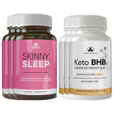 Skinny Sleep and Keto BHB Combo Pack