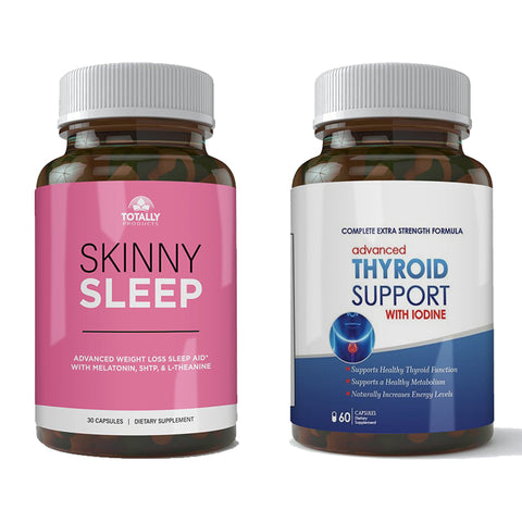 Skinny Sleep and Thyroid Support Combo Pack