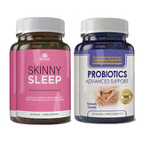 Skinny Sleep and Probiotics Advanced Support Combo Pack