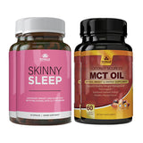 Skinny Sleep and MCT Oil Combo Pack