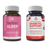 Skinny Sleep and Advanced Diabetic Support Combo Pack