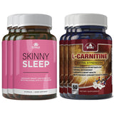 Skinny Sleep and L-Carnitine Combo Pack