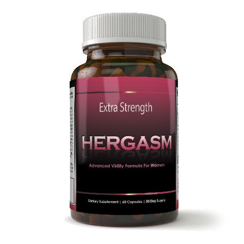 Hergasm - Advanced Female Libido Virility Enhancement (60 Capsules)