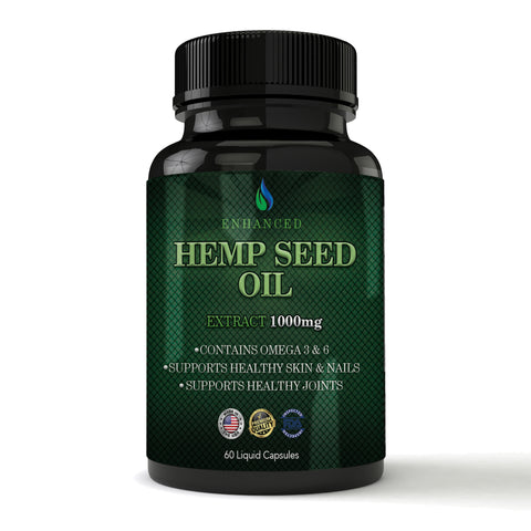 Hemp Seed Oil Extract (60 capsules)
