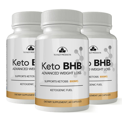 Keto BHB Advanced Weight Loss (3-bottle Pack)