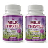 Totally Products Milk Thistle Seed Extract with 80% Silymarin  (60 Capsules)