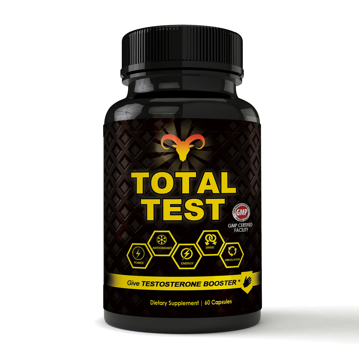 Total Test Testosterone Booster (60 capsules) – Totally Products
