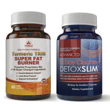 Turmeric Trim and Detox Slim Combo pack