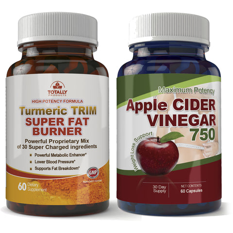 Turmeric Trim and Apple Cider Vinegar Combo pack