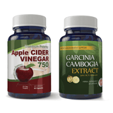 Garcinia Cambogia and Apple Cider Combo pack