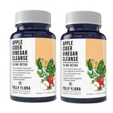 Fully Flora Apple Cider Vinegar Cleanse Natural Detox and Weight Loss (30 Capsules)