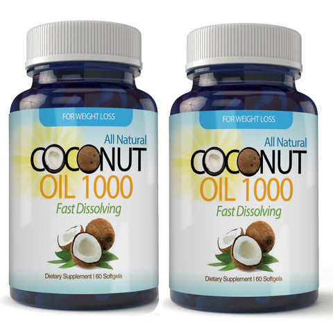 Organic Virgin Coconut Oil  (120 Softgels)