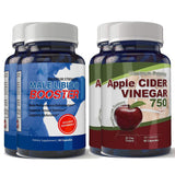 Libido Booster and Apple Cider Vinegar Combo Pack