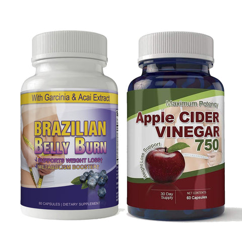 Apple Cider and Brazilian Belly Burn Combo Pack