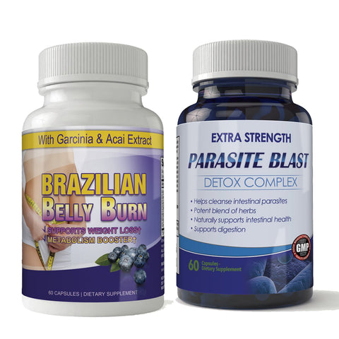 Brazilian Belly Burn and Parasite Blast Combo Pack