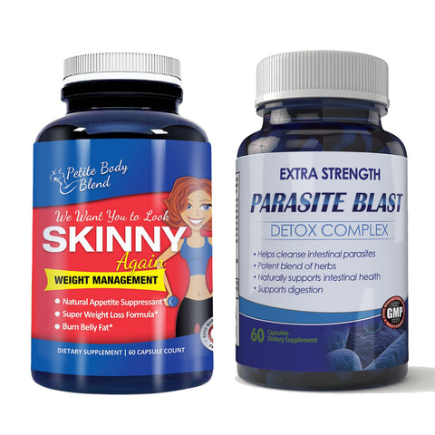 Skinny Again and Parasite Blast Combo Pack