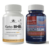 Keto BHB and 15-day Detox Sllim Combo Pack