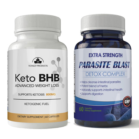 Keto BHB and Parasite Blast Combo Pack