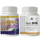 Brazilian Belly Burn and Keto BHB Combo Pack