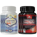 L-Glutamine and Amino Acid Extreme Combo pack