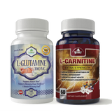 L-Glutamine and L-Carnitine Extra Strength Combo Pack