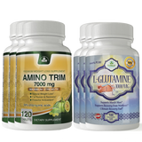 Amino Trim and L-Glutamine Combo Pack
