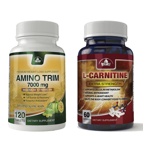 Amino Trim and L-Carnitine Combo Pack