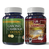 Garcinia Cambogia Extract and L-Carnitine Combo Pack