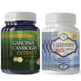 Garcinia Cambogia Extract and L-Glutamine Combo Pack