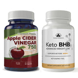 Totally Products Keto BHB Advanced Weight Loss & Maximum Potency Apple Cider Vinegar Capsules Combo Pack