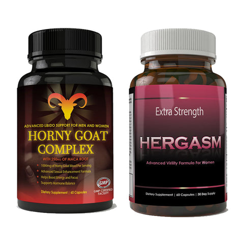 Horny Goat Complex and Hergasm Combo Pack