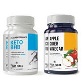 Fully Flora Keto BHB and Apple Cider Combo