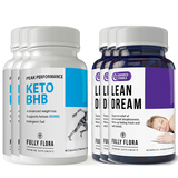 Fully Flora Keto BHB and Lean Dream Combo Pack