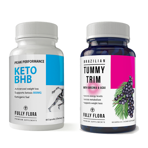 Fully Flora Keto BHB and Tummy Trim Combo Pack