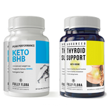 Fully Flora Keto BHB and Thyroid Support Combo Pack