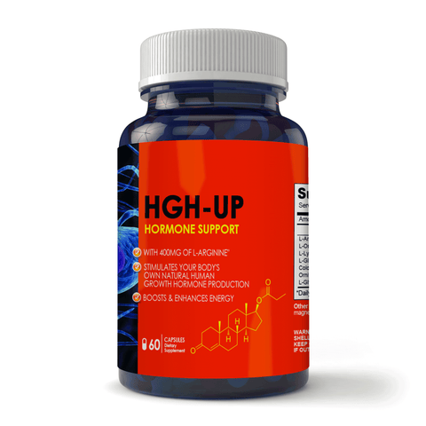 HGH UP Advanced Natural Hormone Helper with L-Arginine (60 capsules)