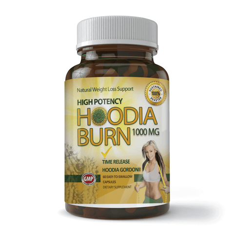 High Potency Hoodia Burn 1000mg (60 Tablets)