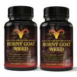Horny Goat Weed 1000mg Extract for Advanced Libido Support (60 Capsules)