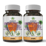 Totally Products Immunity Defense 1300mg - Advanced Immunity Support (120 capsules)