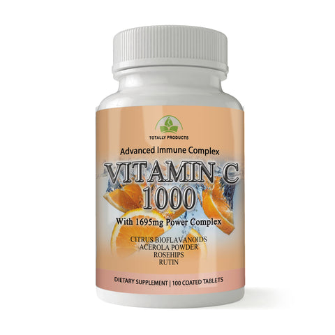 Vitamin C - 1695mg Power Complex (100 tablets)