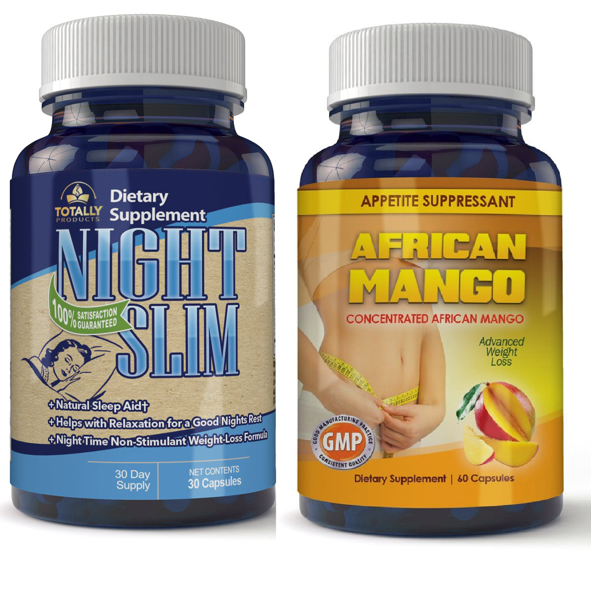 African Mango And Night Slim Weight Loss Pills Combo Totally