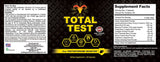 Total Test Testosterone Booster and Turmeric Curcumin Combo Pack
