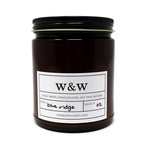 Wax and Wool 9oz Pure Soy Candle