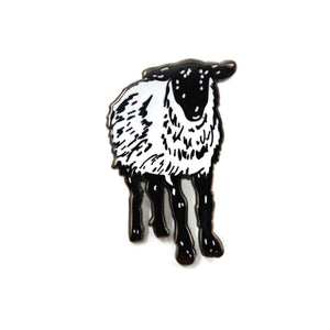 Sheep Enamel Pin
