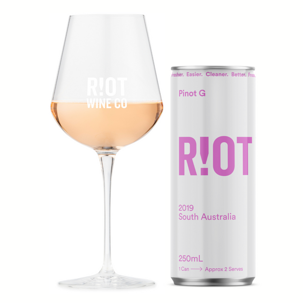 2019 RIOT PINOT G - 24 Pack