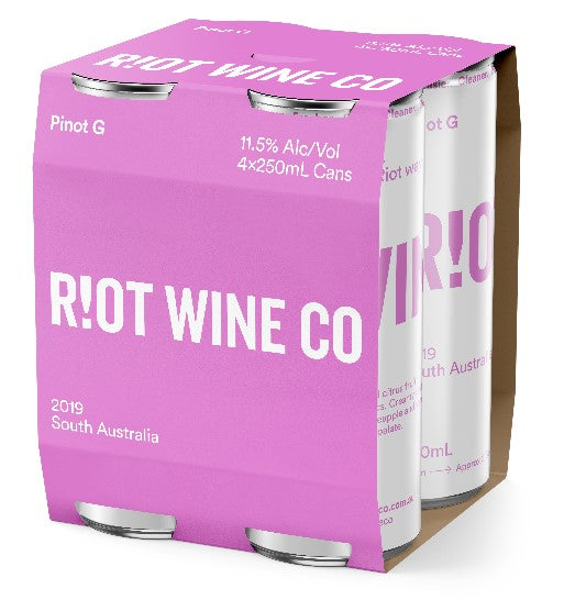2019 RIOT PINOT G - 4 Pack