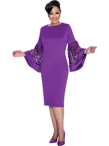 Purple Dress, Dorinda Clark Cole DCC Rose Collection