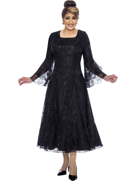 Black Dress, Dorinda Clark Cole DCC Rose Collection